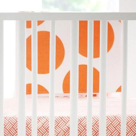 Blanket | Spot On Tangerine-Baby Blanket-Jack and Jill Boutique