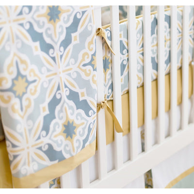 Blanket | Starburst in Gold-Baby Blanket-Jack and Jill Boutique
