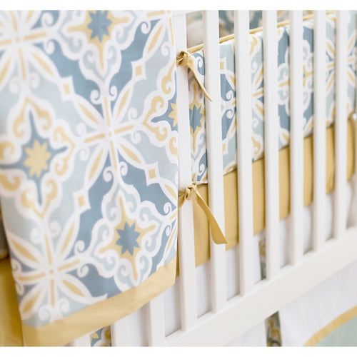 Baby Blanket-Jack and Jill Boutique-Blanket | Starburst in Gold