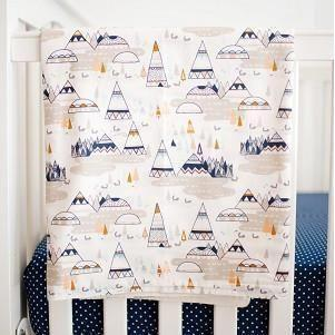 Blanket | Woodland Oak-Baby Blanket-Jack and Jill Boutique