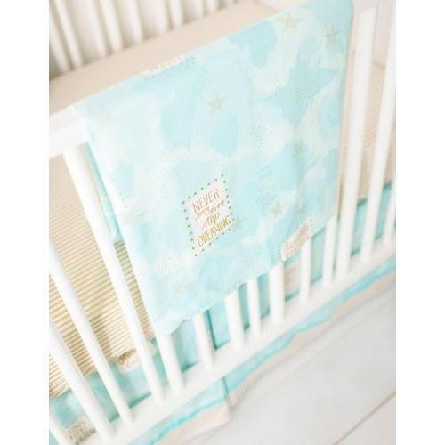 Blanket | You Are Magic in Aqua-Baby Blanket-Jack and Jill Boutique