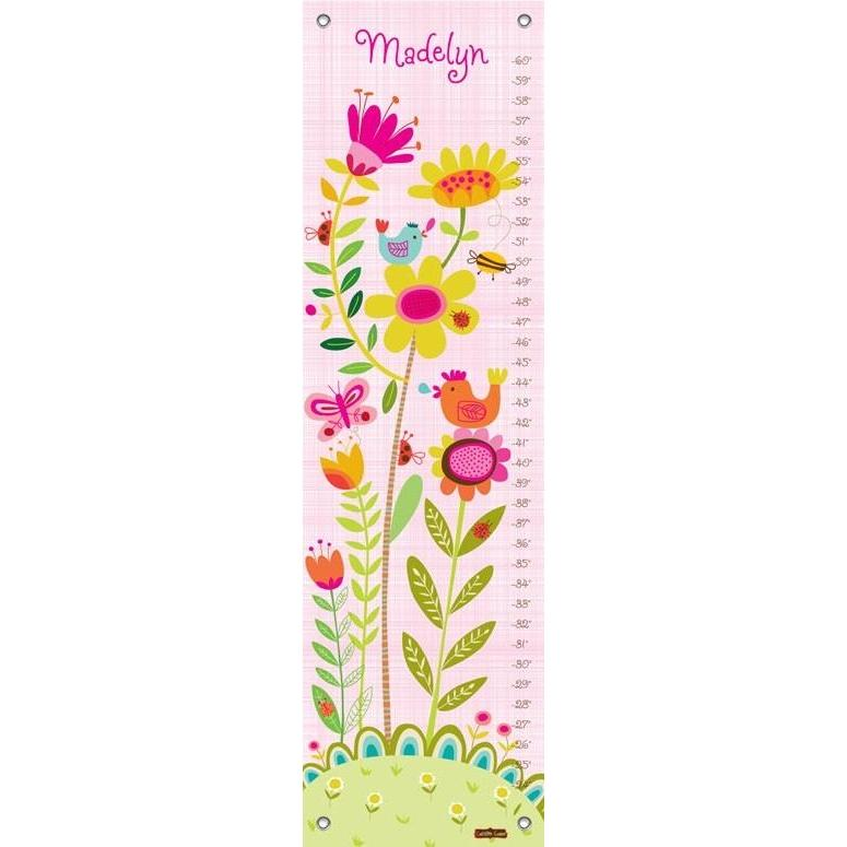 Bloomin' Birdies - Pink & White Growth Charts