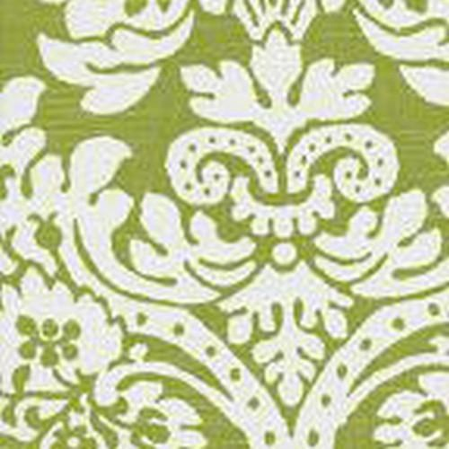 Bloomin Damask in Apple Designer Fabric by the Yard | 100% Cotton