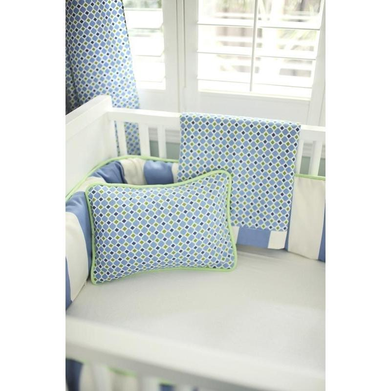 Boardwalk Blue and Green Baby Bedding Set