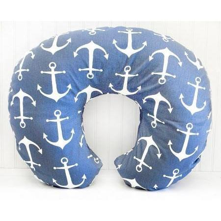 Boppy Covers | Anchors Away in Navy Nautical-Boppy Cover-Default-Jack and Jill Boutique