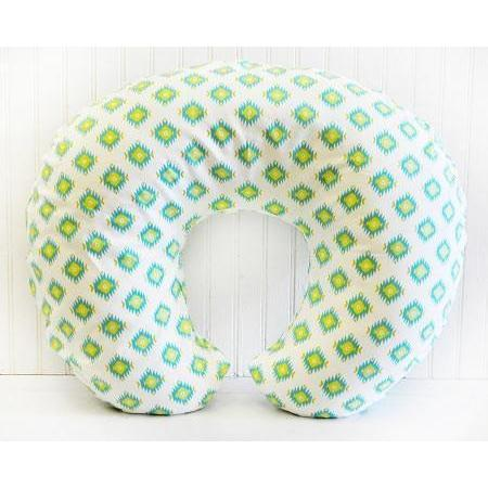 Boppy Covers | Aztec Baby in Aqua-Boppy Cover-Default-Jack and Jill Boutique
