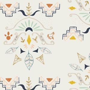 Boppy Covers | Aztec Temple of Allanque-Boppy Cover-Default-Jack and Jill Boutique