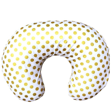 Boppy Covers | Metallic Gold Dots