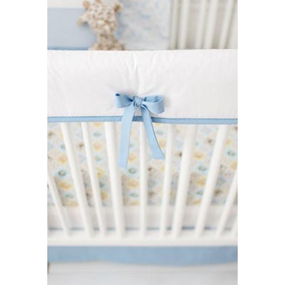 Born Wild in Blue Crib Baby Bedding Set-Crib Bedding Set-Default-Jack and Jill Boutique