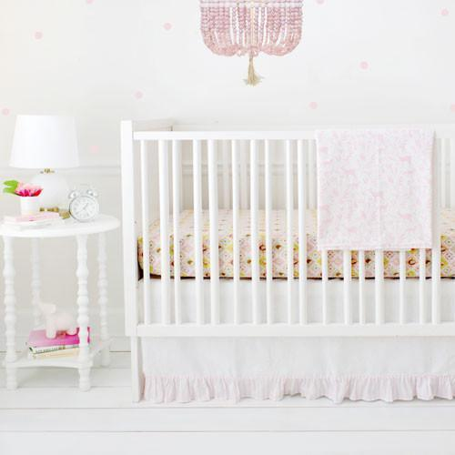 Born Wild in Pink Crib Baby Bedding Set-Crib Bedding Set-Default-Jack and Jill Boutique