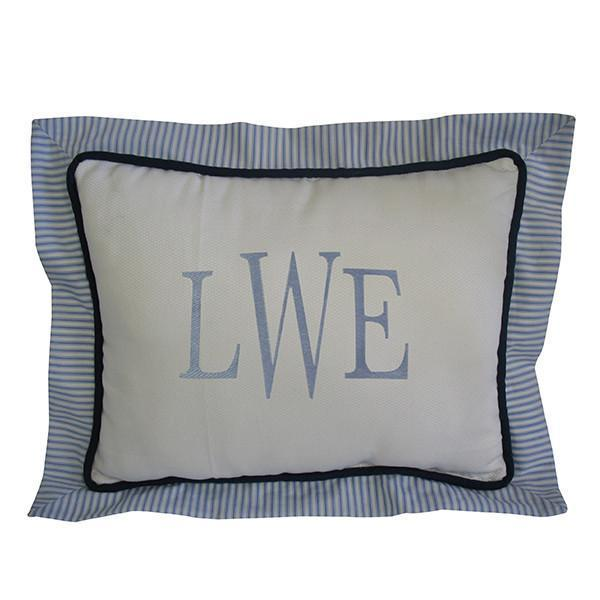 Boudoir Pillow | Luke Luxury Baby Bedding Set-Throw Pillow-Bebe Chic-Jack and Jill Boutique