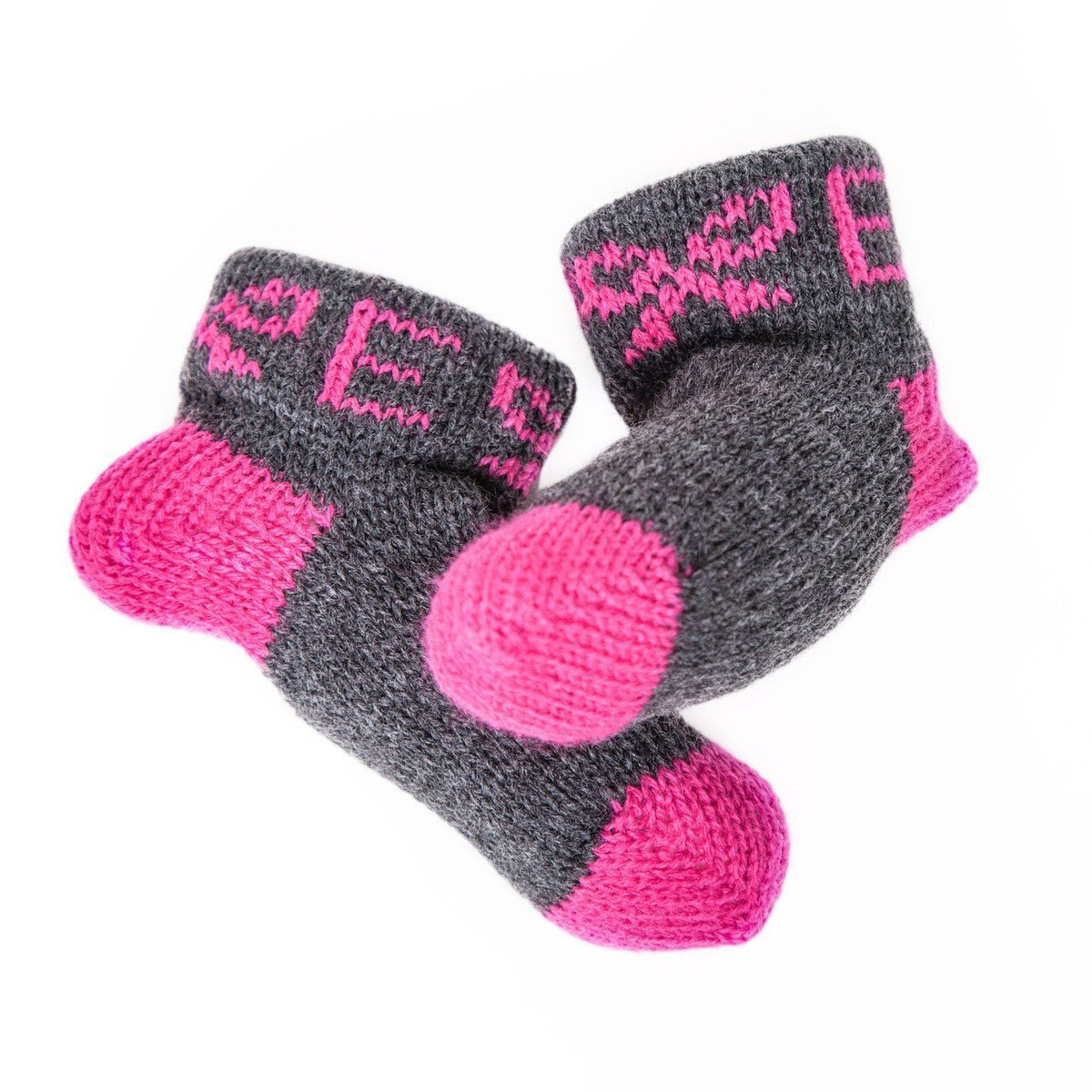 Bow & Initial Personalized Booties-Booties-Default-Jack and Jill Boutique