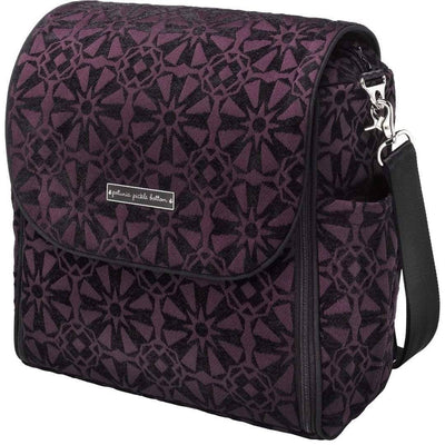 Boxy Backpack Diaper Bags | Petunia Pickle Bottom-Diaper Bags-Evening Plum-Jack and Jill Boutique