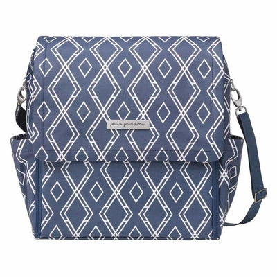 Boxy Backpack Diaper Bags | Petunia Pickle Bottom-Diaper Bags-Indigo-Jack and Jill Boutique
