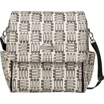 Boxy Backpack Diaper Bags | Petunia Pickle Bottom-Diaper Bags-London Calling-Jack and Jill Boutique