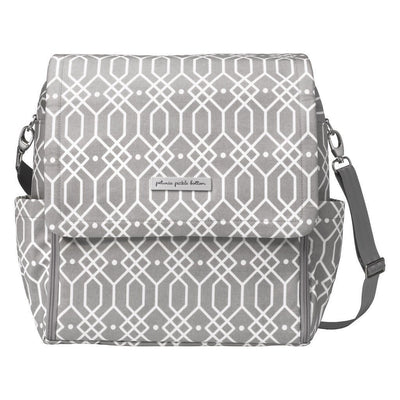 Boxy Backpack Diaper Bags | Petunia Pickle Bottom-Diaper Bags-Quartz-Jack and Jill Boutique