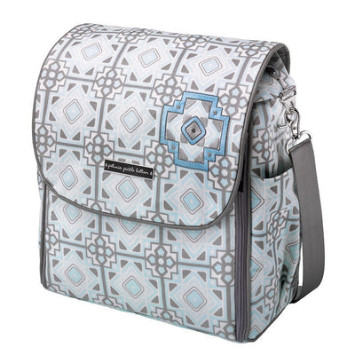 Boxy Backpack Diaper Bags | Petunia Pickle Bottom-Diaper Bags-Sleepy Seychelles-Jack and Jill Boutique