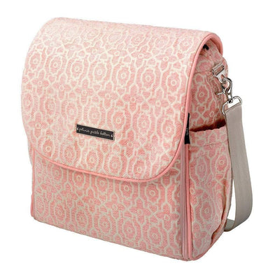 Boxy Backpack Diaper Bags | Petunia Pickle Bottom-Diaper Bags-Sweet Rose-Jack and Jill Boutique