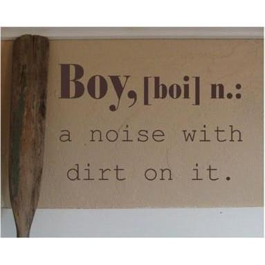 Boy Definition Vinyl Wall Decal-Decals-Jack and Jill Boutique