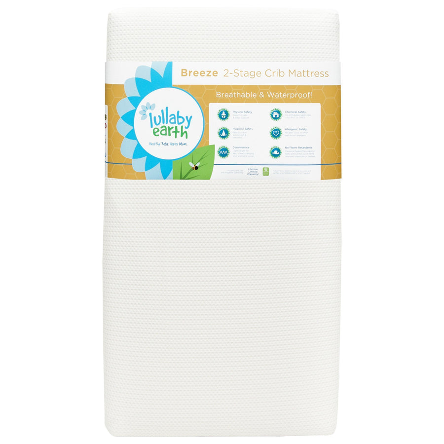 Breeze Crib Mattress 2-Stage (Lullaby Earth)