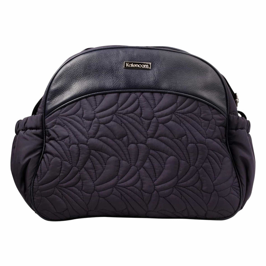 Breeze Navy Kalencom Jazz Collection Diaper Bag | Style 8801 - Kalencom-Diaper Bags-Default-Jack and Jill Boutique