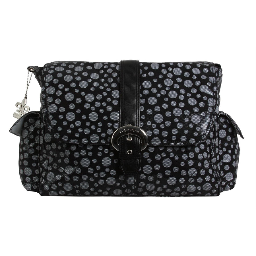 Bubbles - Black Buckle Diaper Bag | Style 2960 - Kalencom-Diaper Bags-Default-Jack and Jill Boutique