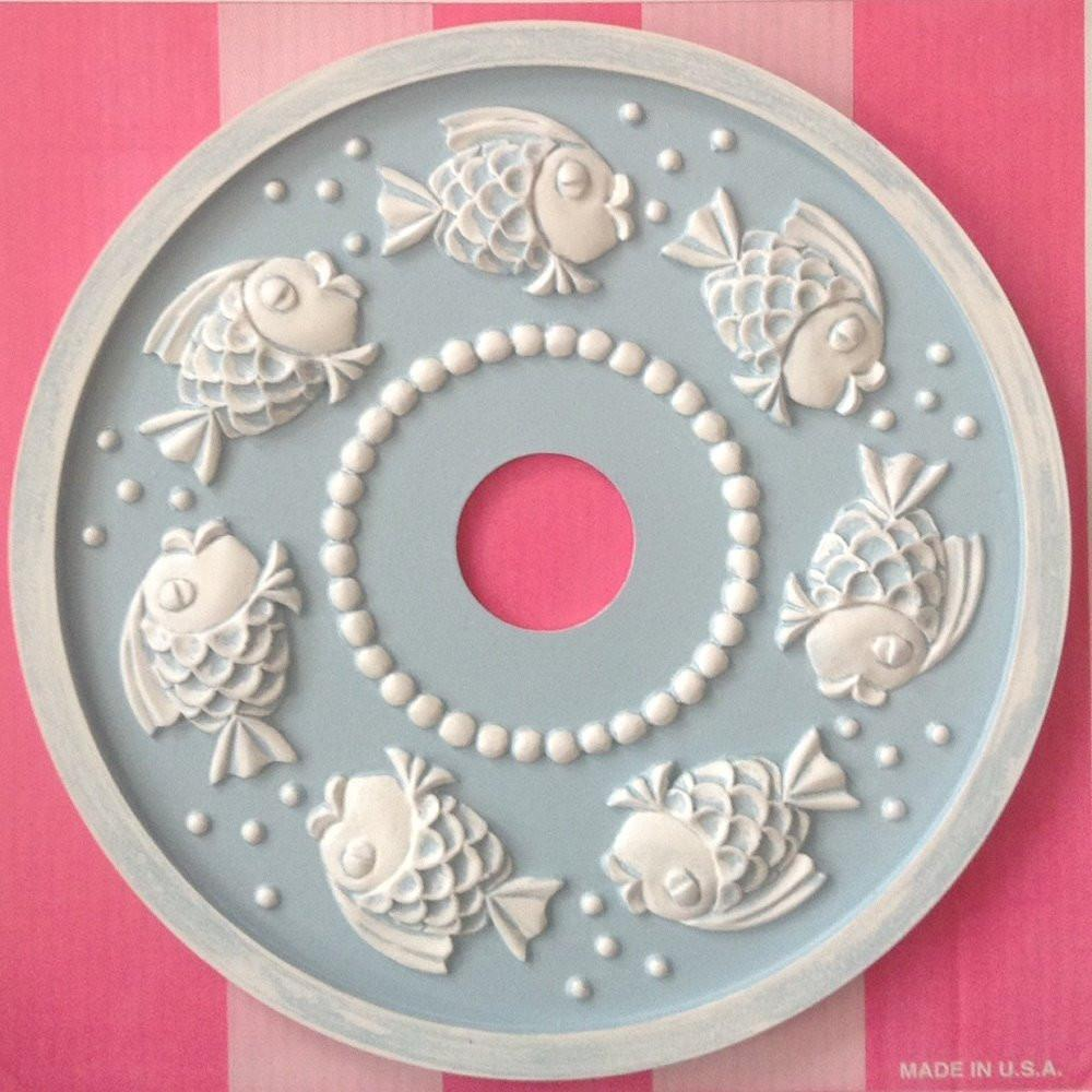 Bubbly Fish Ceiling Medallions-Medallions-Jack and Jill Boutique