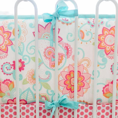 Bumper | Gypsy Baby Paisley Crib Baby Bedding Set-Bumper-Jack and Jill Boutique