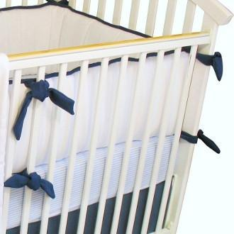 Bumper | Luke Luxury Baby Bedding Set-Bumper-Bebe Chic-Jack and Jill Boutique