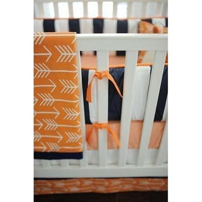 Bumper | Orange & Navy Arrow Out & About-Bumper-Default-Jack and Jill Boutique