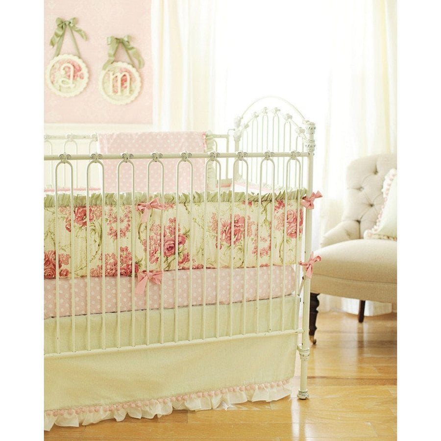 Bumper | Roses for Bella Crib Baby Bedding Set