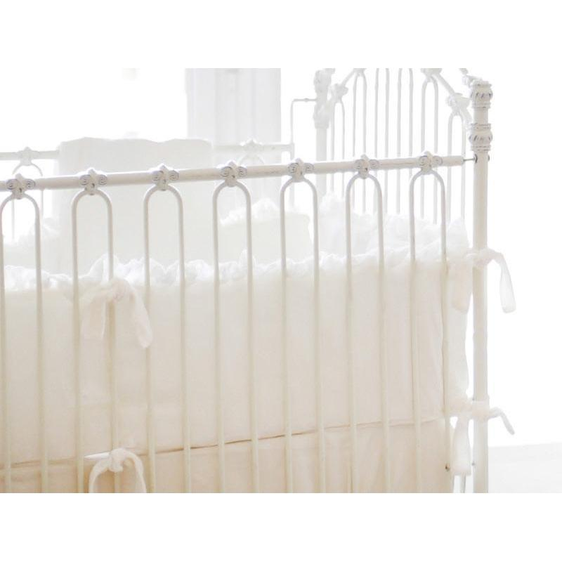 Bumper Jack And Jill Boutique Bumper | Velvet Baby In Ivory Crib Baby  Bedding