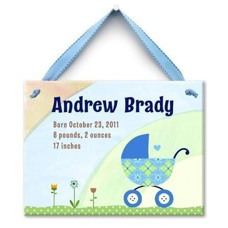 Bundle in the Buggy Boys Wall Tile-Personalized Wall Tile-Default-Jack and Jill Boutique