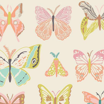 Butterfly Fabric By The Yard | 100% Cotton-Fabric-Yard-Jack and Jill Boutique