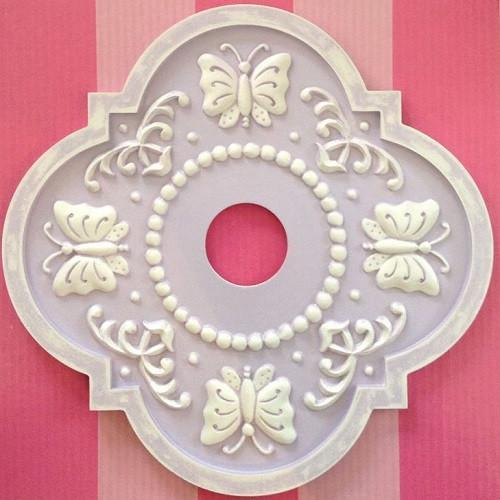 Butterfly Garden Ceiling Medallions-Medallions-Jack and Jill Boutique