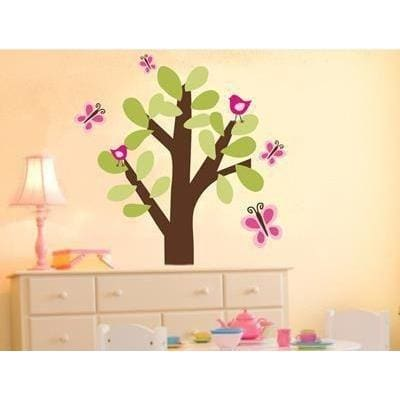 Butterfly Tree Fabric Decal-Decals-One Size-Jack and Jill Boutique
