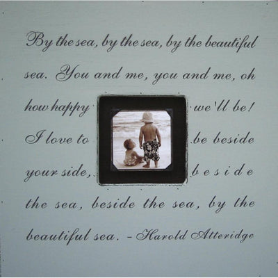 "Handmade Wood Photobox with quote ""By the Sea""-Photoboxes-Default-Jack and Jill Boutique"