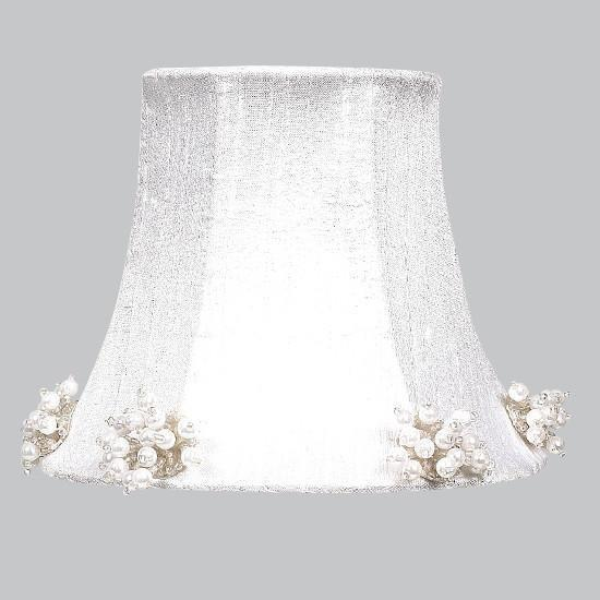 Chandelier Shade - Pearl Burst - White-Chandelier Shades-Default-Jack and Jill Boutique