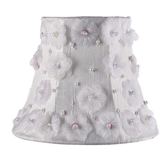 Chandelier Shade - Petal Flower -White-Chandelier Shades-Default-Jack and Jill Boutique