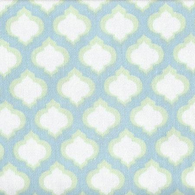 Changing Pad Cover | Aqua & Green Sprout-Changing Pad Cover-Default-Jack and Jill Boutique
