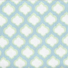 Changing Pad Cover | Aqua & Green Sprout-Changing Pad Cover-New Arrivals-Jack and Jill Boutique