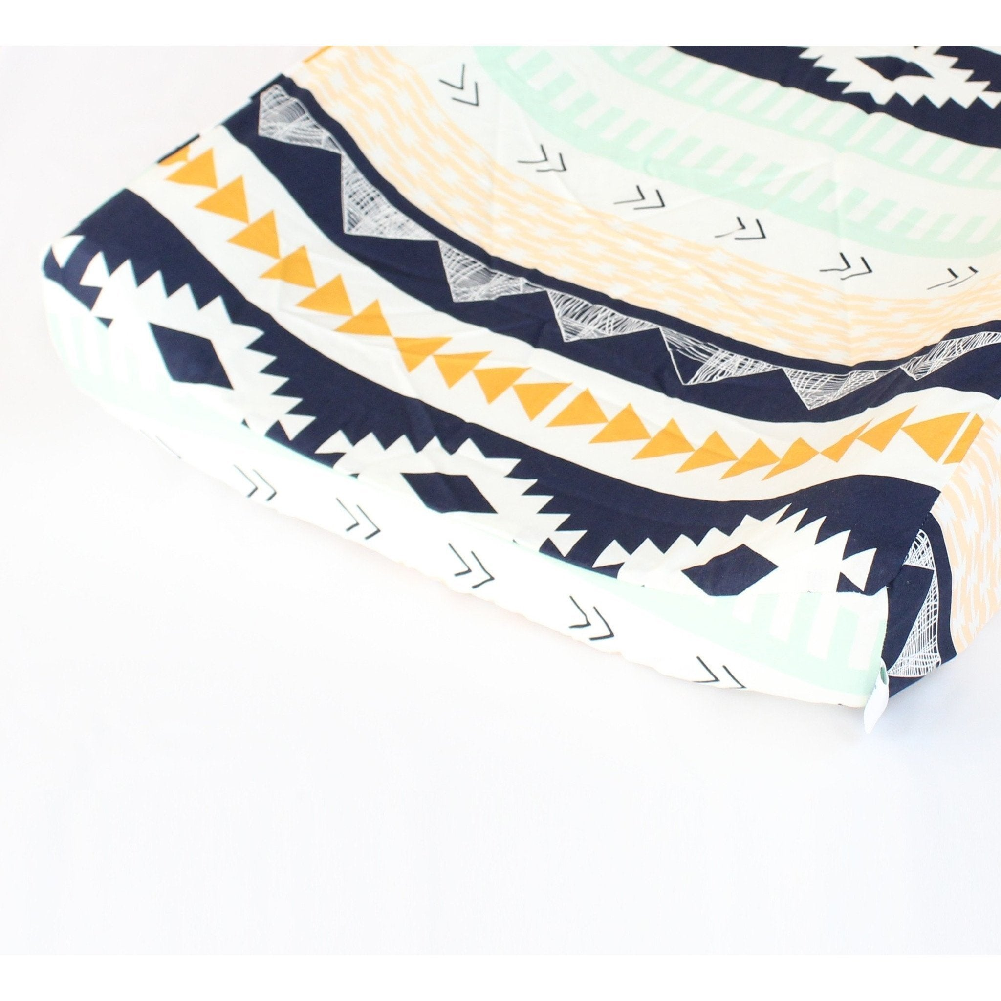Changing Pad Cover | Aztec Arid Horizon-Changing Pad Cover-Bold Bedding-Jack and Jill Boutique