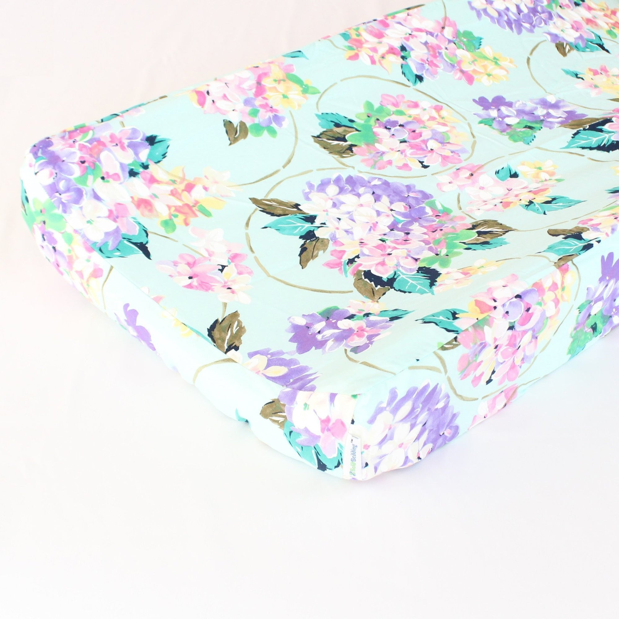Changing Pad Cover | Cordelia Pastel Print-Changing Pad Cover-Default-Jack and Jill Boutique