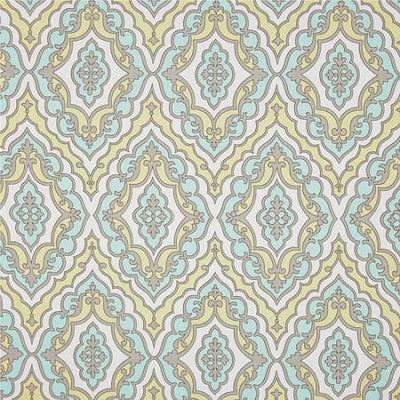 Changing Pad Cover | Dreamweaver Yellow and Aqua-Changing Pad Cover-New Arrivals-Jack and Jill Boutique