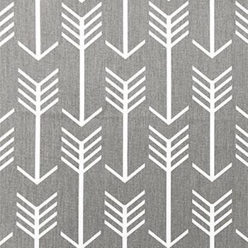 Changing Pad Cover | Gray Arrow Wanderlust in Gray-Changing Pad Cover-Default-Jack and Jill Boutique