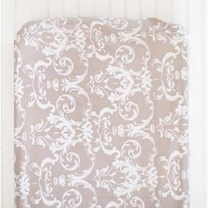 Changing Pad Cover | Halle Damask-Changing Pad Cover-New Arrivals-Jack and Jill Boutique