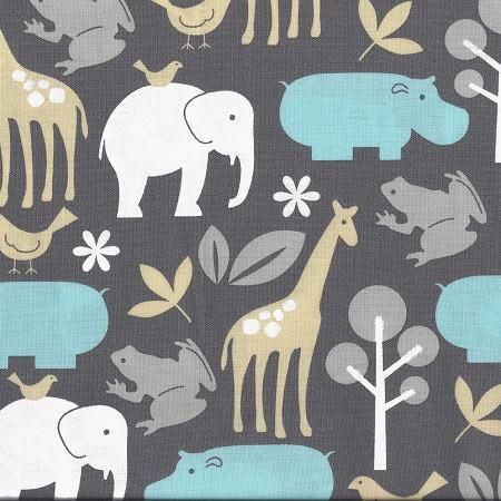 Changing Pad Cover Jungle Animal Urban Zoo Jack And