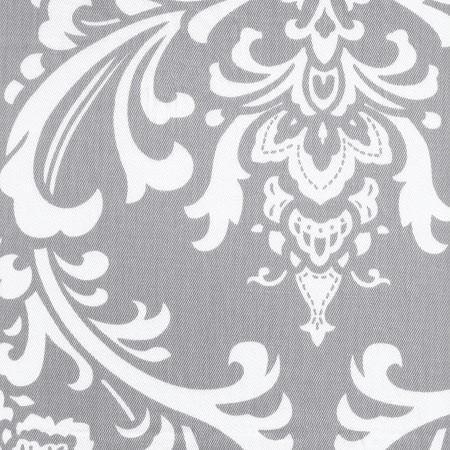 Changing Pad Cover | Lavender & Gray Damask Wisteria in Lavender