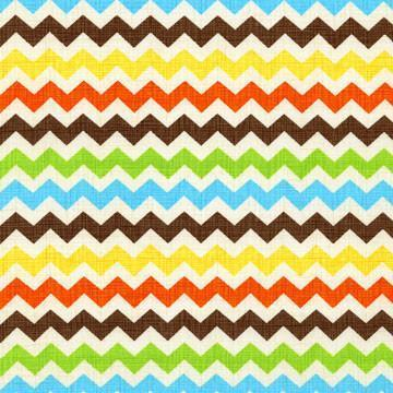Changing Pad Cover | Multi Chevron Sante Fe-Changing Pad Cover-Default-Jack and Jill Boutique