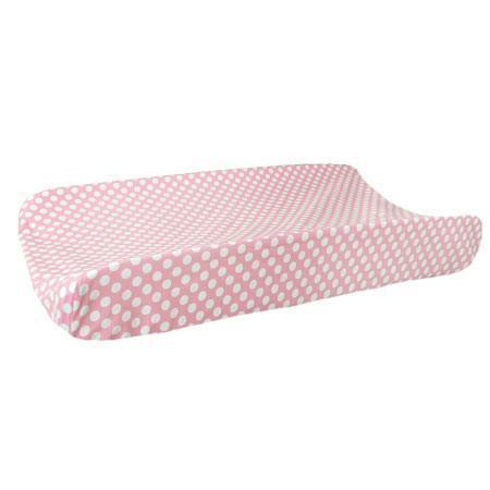 Changing Pad Cover | Pink Chevron Zig Zag Baby in Pink Sugar-Changing Pad Cover-Default-Jack and Jill Boutique
